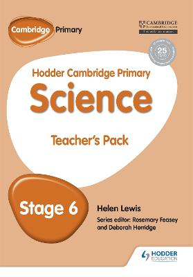 Hodder Cambridge Primary Science Teacher's Pack 6