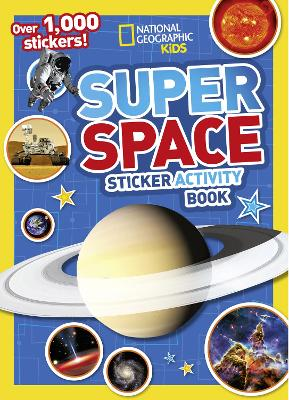 Super Space Sticker Activity Book: Over 1,000 Stickers!