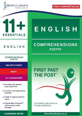 11+ Essentials English Comprehensions: Poetry Book 1