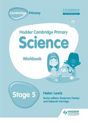 Hodder Cambridge Primary Science Workbook 5