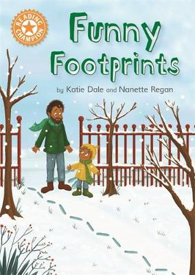 Reading Champion: Funny Footprints: Independent Reading Orange 6