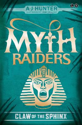 Myth Raiders: Claw of the Sphinx: Book 2