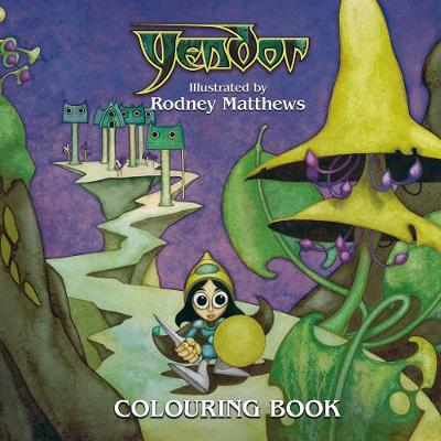 Yendor: Colouring Book