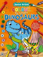 Junior Artist Colour By Numbers: Dinosaurs