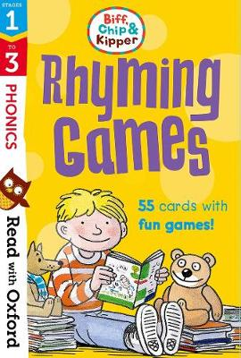 Read with Oxford: Stages 1-3: Biff, Chip and Kipper: Rhyming Games Flashcards