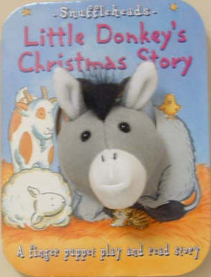 Little Donkey's Christmas Story: A Finger Puppet Play and Read Story