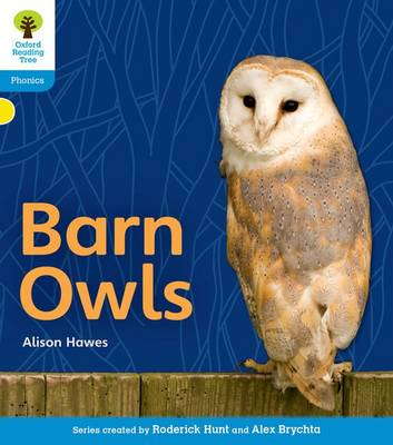 Oxford Reading Tree: Level 3: Floppy's Phonics Non-Fiction: Barn Owls
