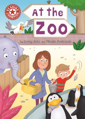 Reading Champion: At the Zoo: Independent Reading Red 2