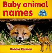 Baby animal names: Animals in My World
