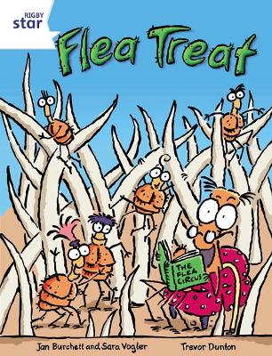 Rigby Star Independent Year 2 White Fiction Flea Treat Single