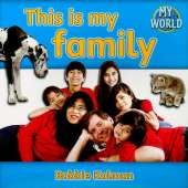 This is my family: Families in My World