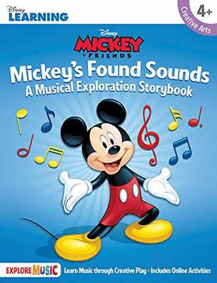Mickey's Found Sounds: A Musical Exploration Storybook