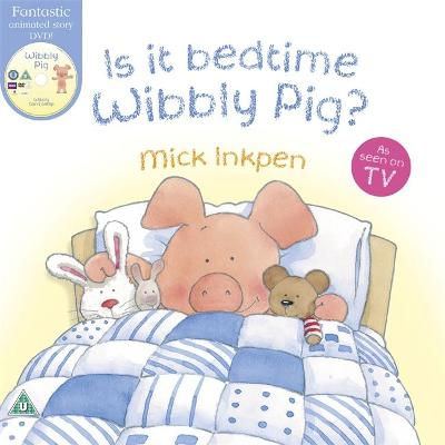 Wibbly Pig: Is It Bedtime Wibbly Pig? Book and DVD