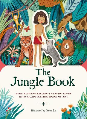 Paperscapes: The Jungle Book: Turn Rudyard Kipling's classic story into a captivating work of art
