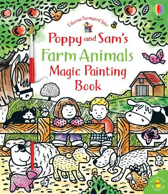Poppy and Sam's Farm Animals Magic Painting