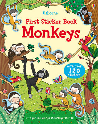 First Sticker Book Monkeys