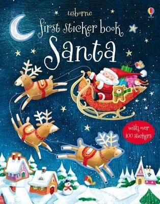 First Sticker Book: Santa