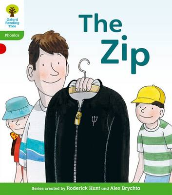 Oxford Reading Tree: Level 2: Floppy's Phonics Fiction: The Zip