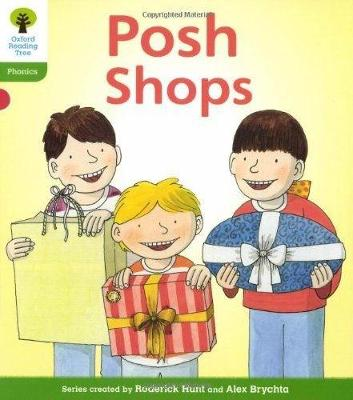 Oxford Reading Tree: Level 2: Floppy's Phonics Fiction: Posh Shops