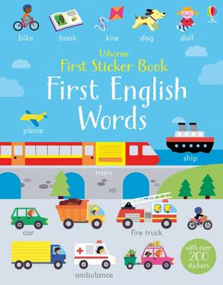 First Sticker Book First English Words
