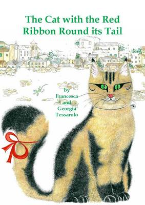 Cat with the Red Ribbon Round its Tail