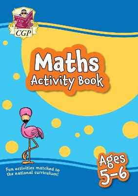 New Maths Activity Book for Ages 5-6: perfect for home learning