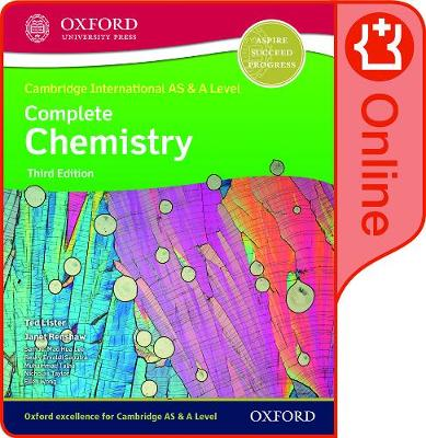 Cambridge International AS & A Level Complete Chemistry Enhanced Online Student Book