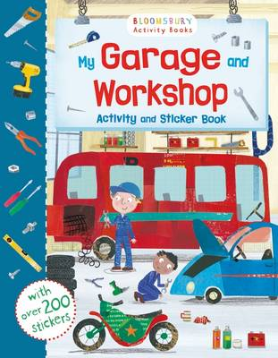 My Garage and Workshop Activity and Sticker Book