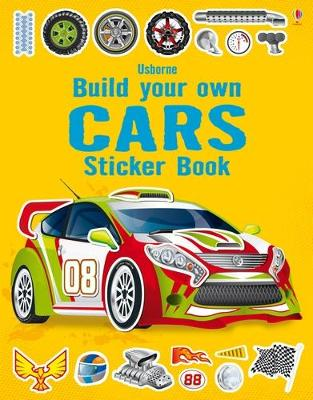 Build Your Own Car Sticker Book