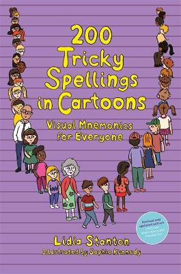 200 Tricky Spellings in Cartoons: Visual Mnemonics for Everyone - Us Edition
