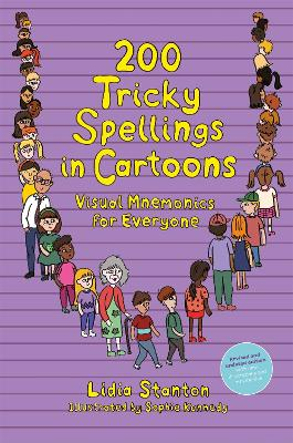 200 Tricky Spellings in Cartoons: Visual Mnemonics for Everyone - Uk Edition