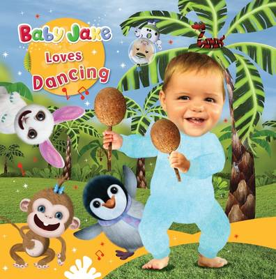 Baby Jake Loves Dancing: Tabbed Board
