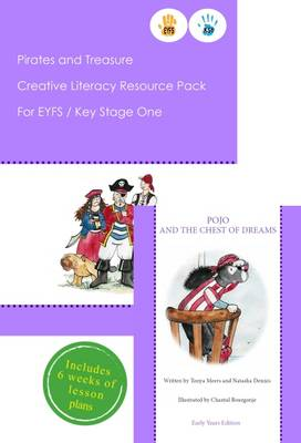Pirates and Treasure Creative Literacy Resource Pack for Key Stage One and EYFS