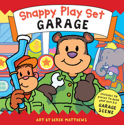 Snappy Playtime Garage: Playset