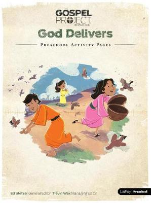 God Delivers:  Preschool Activity Pages