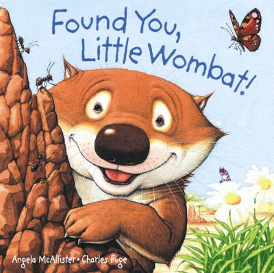 Found You, Little Wombat! Board Book