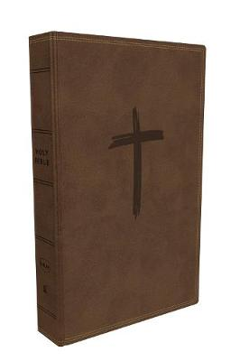 NKJV, Holy Bible for Kids, Leathersoft, Brown, Comfort Print: Holy Bible, New King James Version