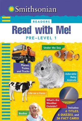 Smithsonian Readers: Read with Me! Pre Level 1