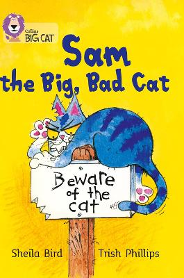 Sam and the Big Bad Cat: Band 03/Yellow