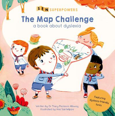 The Map Challenge: A Book about Dyslexia