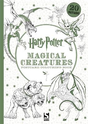 Harry Potter Magical Creatures Postcard Colouring Book: 20 postcards to colour