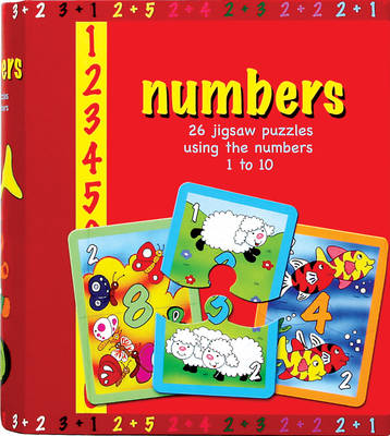 Numbers: 26 Jigsaw Puzzles Using the Numbers 1 to 10