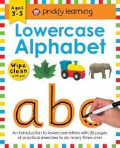 Lowercase Alphabet: Wipe Clean Workbooks