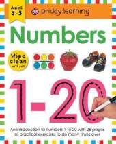 Numbers 1-20: Wipe Clean Workbooks
