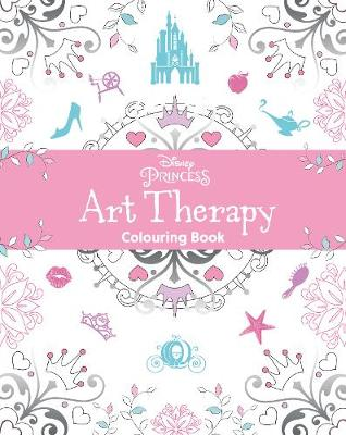Disney Princess Art Therapy Colouring Book
