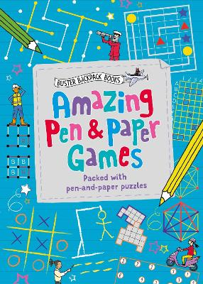 Amazing Pen & Paper Games: Packed with pen-and-paper puzzles