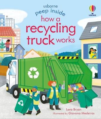 Peep Inside How a Recycling Truck Works