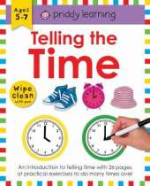 Telling the Time: Wipe Clean Workbooks