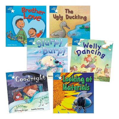 Learn at Home:Star Reading Blue Level Pack (5 fiction and 1 non-fiction book)