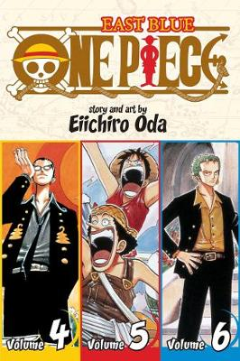 One Piece (Omnibus Edition), Vol. 2: Includes vols. 4, 5 & 6
